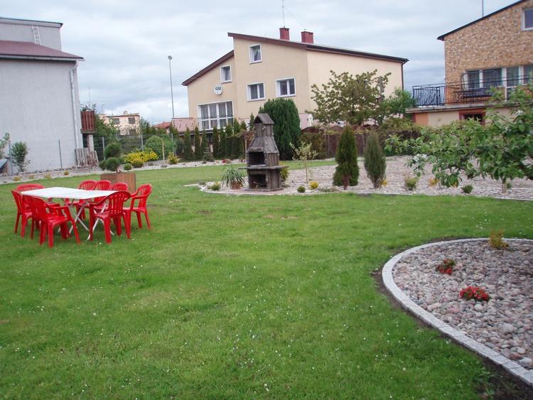 Der Garten mit Grillmöglichkeiten