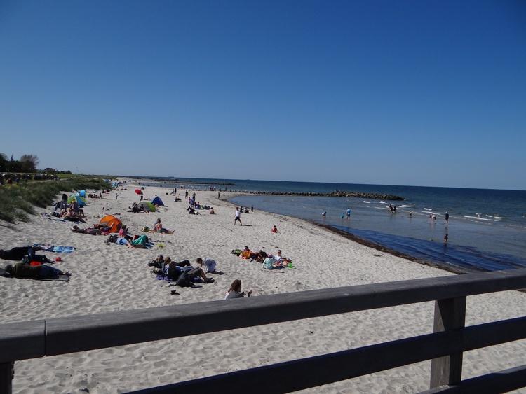 Strand bei der Seebrücke