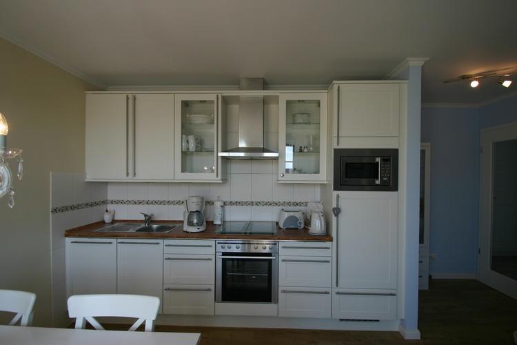 Nobillia-Küche mit sämtlichen Geräten