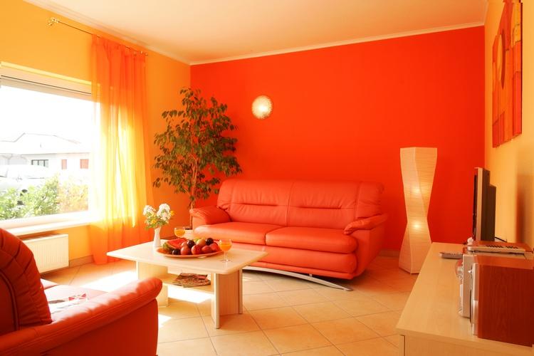 Wohnzimmer Komfort-Wohnung