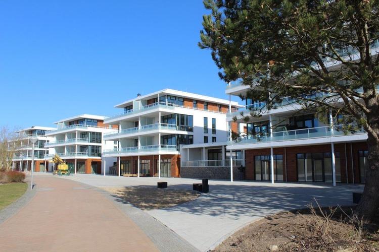 Die Strandseite, direkt an der Promenade
