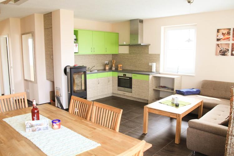 Küche und Kamin