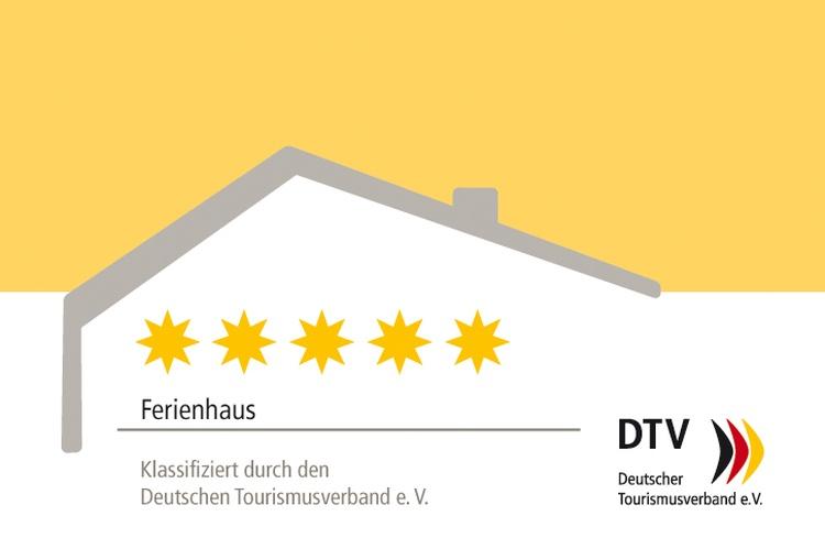 5-Sterne klassifiziertes Ferienhaus