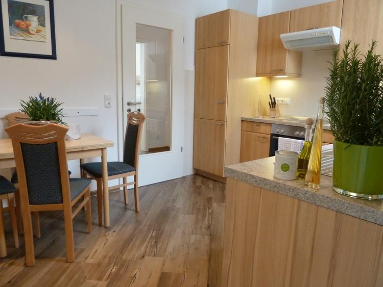 Küche kpl. ausgestattet