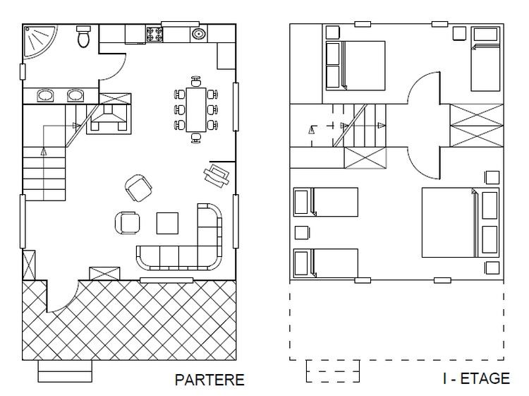 Grundriss Haus Typ-A