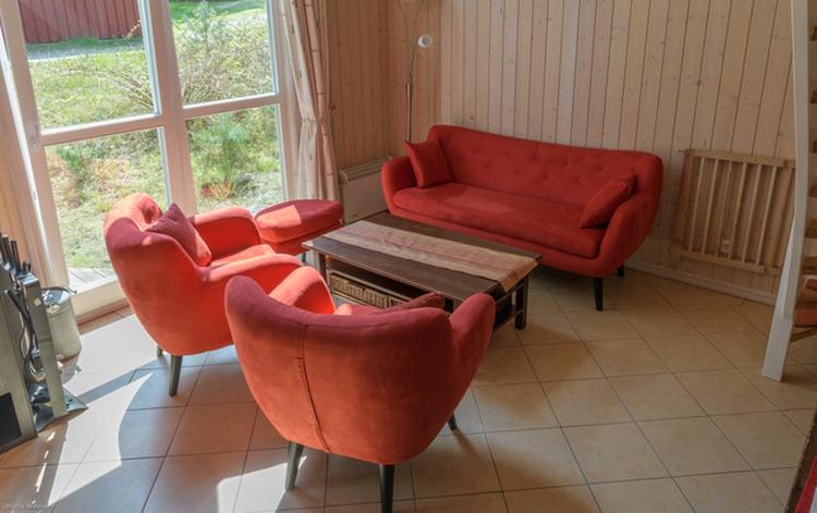 Wohnzimmer EG mit neuen Möbeln