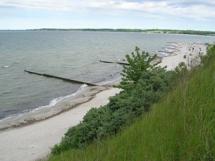 Steilküste Strand