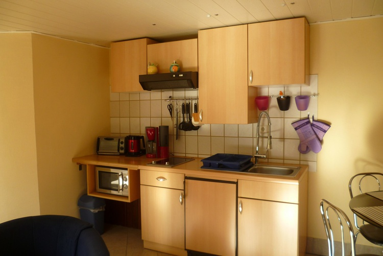 Küche mit allem was Sie benötigen