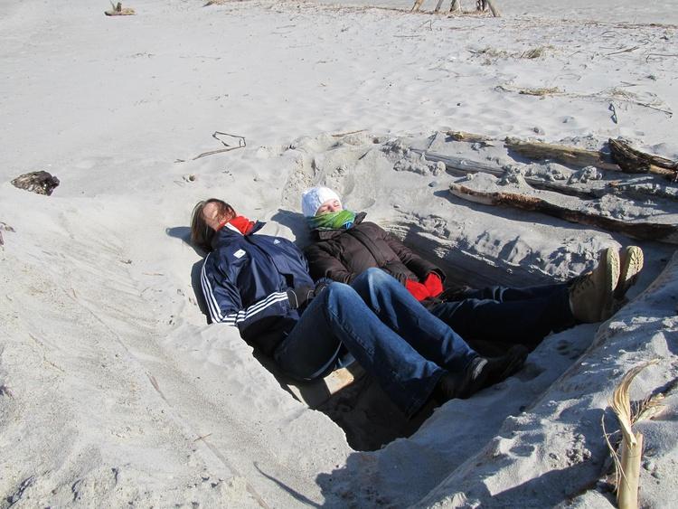 Auch im März lassen sich Sonne, Strand und Meer genießen...