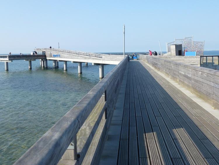 120m entfernt... die Seebrücke
