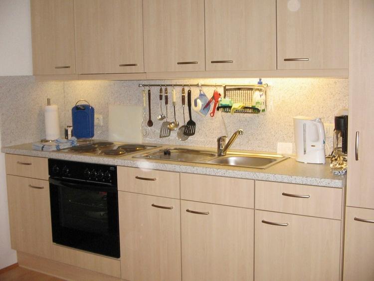 Küche + Frühstücksraum