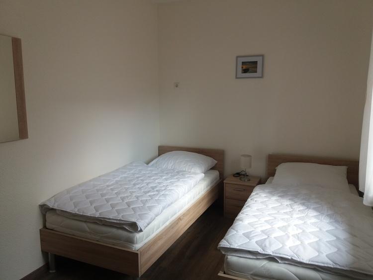 2 einzelne Betten