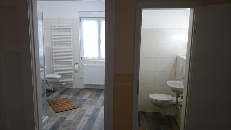 Dusch- und Gäste-WC