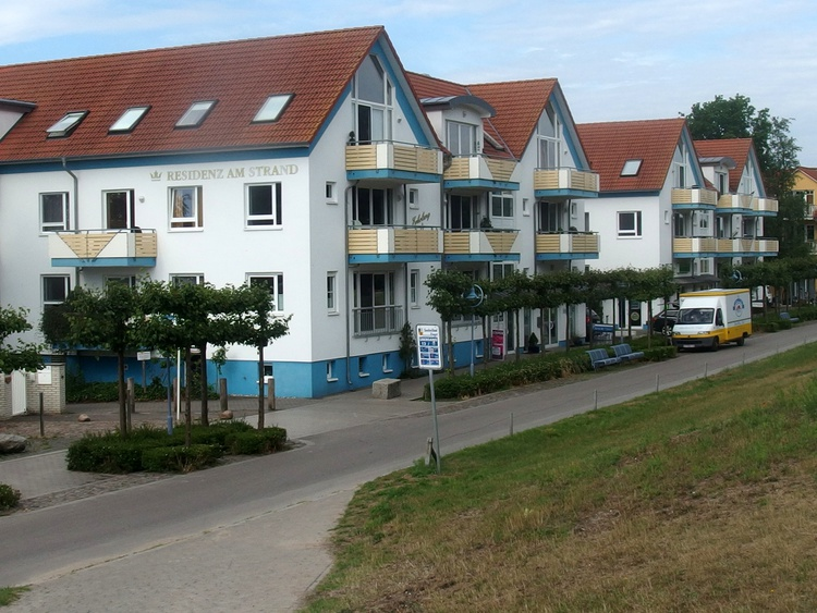 Residenz am Strand, Seestraße, Deichaufgang