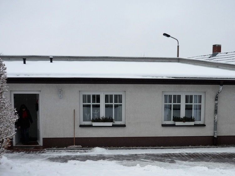 Ansicht von außen im winter