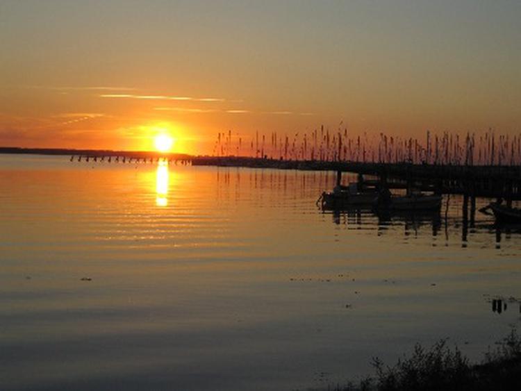 Abendstimmung an der Geltinger Bucht!