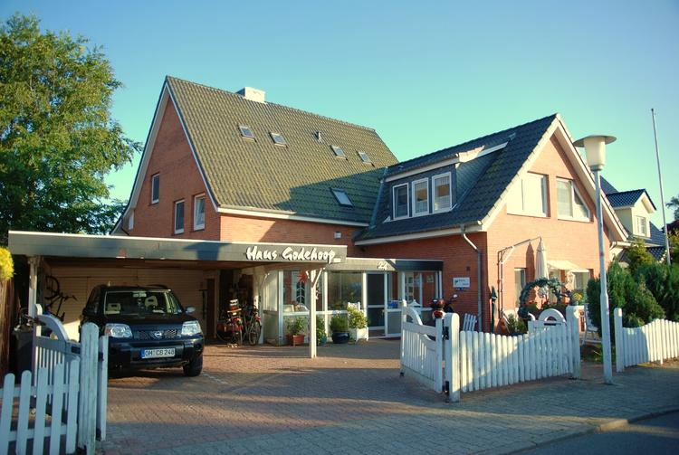 Haus Godehoop Wohnung 1 (2,5 Zimmer 4 Personen) Personen