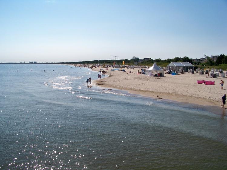 Strand im Ostseebad Heringsdorf