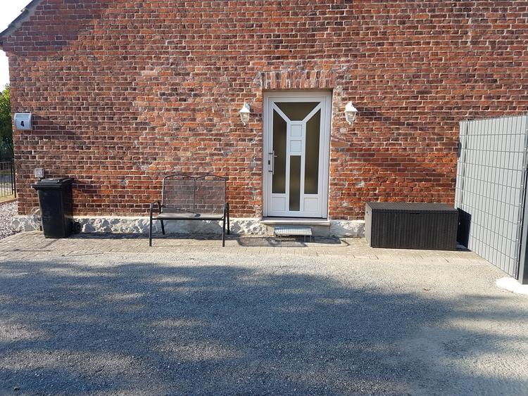 Außenansicht Eingangsbereich Ferienobjekt