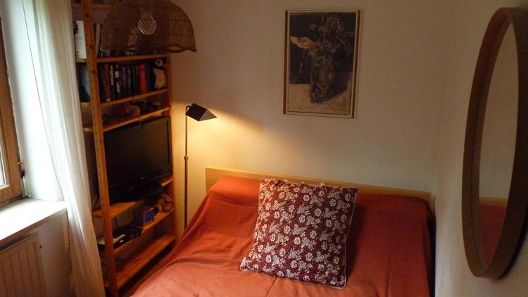 Kleines Schlafzimmer (120 x 2 Meter)