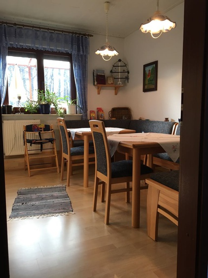 Frühstücksraum + Küche