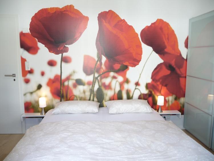 Schlafzimmer 2 mit Doppelbett (180x200)