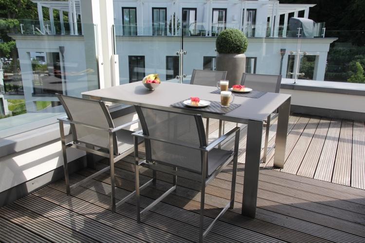 Terrasse mit Rausch Möbeln