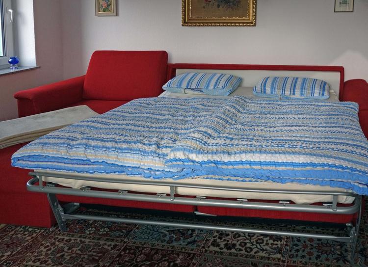 Couch / als Doppelbett