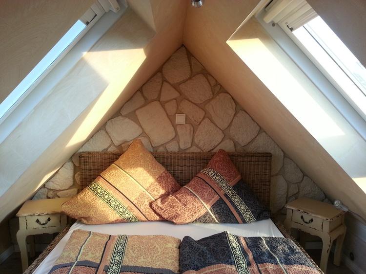 2. Schlafbereich halboffen mit seitlichem Meerblick