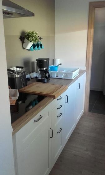 Küche Bungalow Blauer Matrose