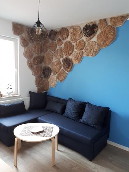 Sitzecke Blauer Matrose