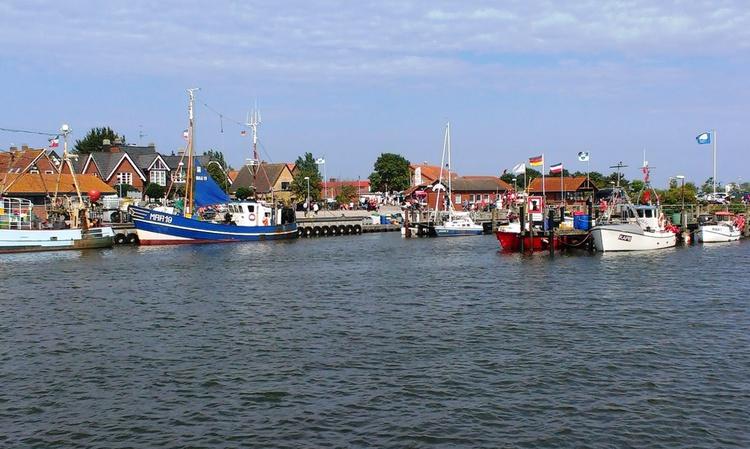 Ausflugsziel Maasholm mit Fischereihafen