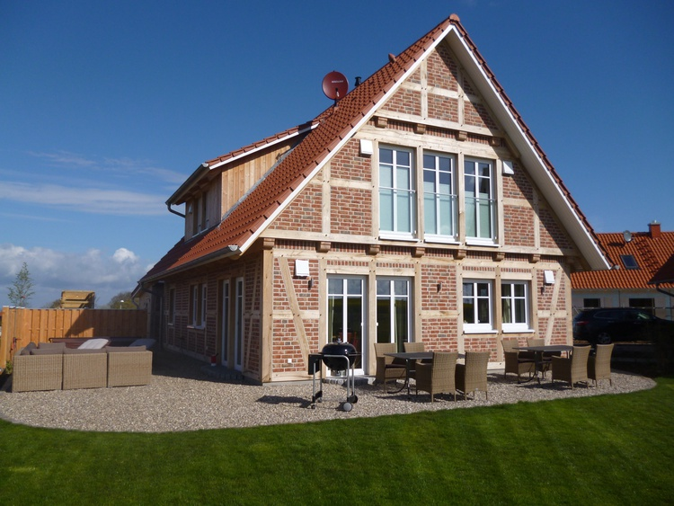 Das Landhaus 4 Jahreszeiten mit Garten und 3 Terrassen