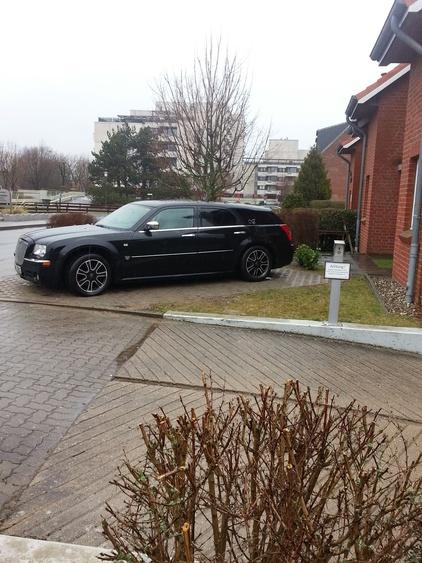 zweiter Parkplatz