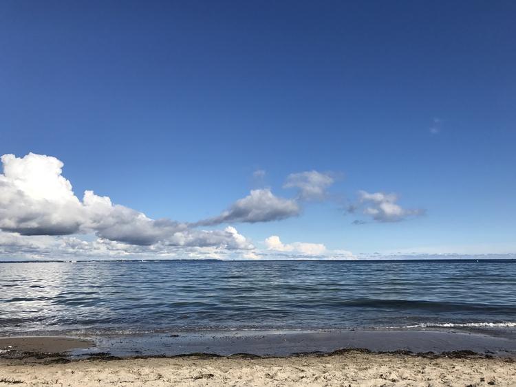 Strandaussichten...einfach Meer