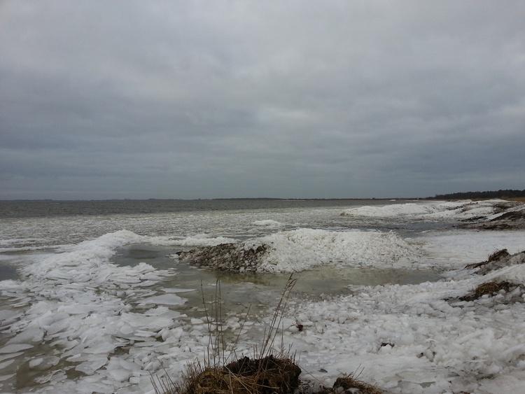 Im Winter sind Spaziergänge am gefrorenen Bodden ein faszinierendes Erlebnis.