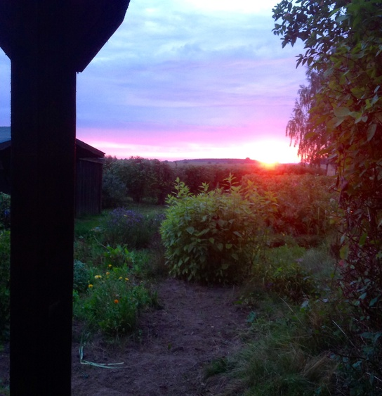 Landlust Sonnenuntergänge