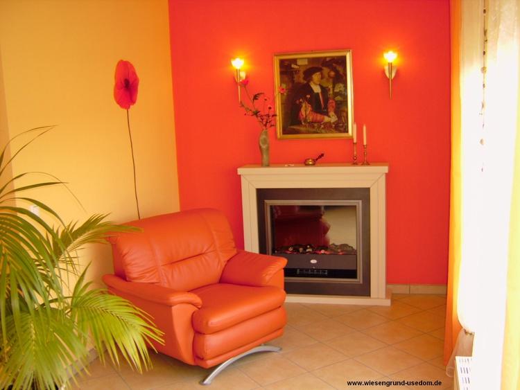 Wohnzimmer, Komfort-Wohnung