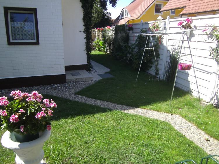 Im Garten  2 Terrassen