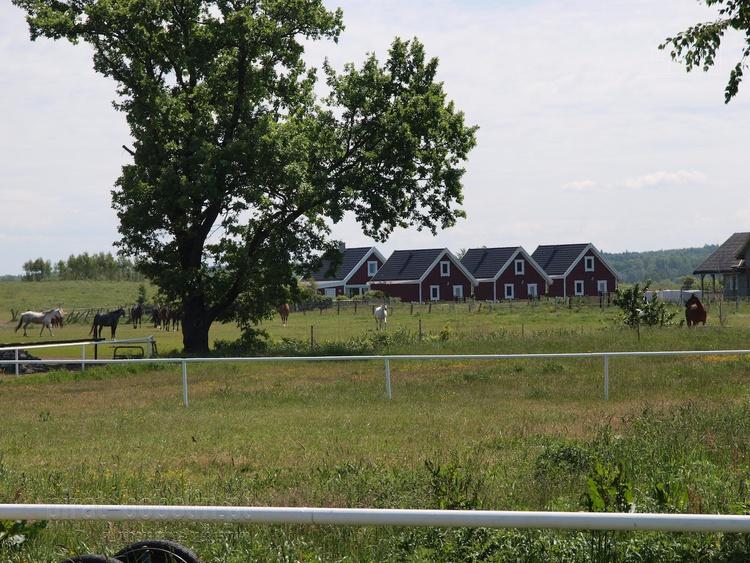 Anlage von der Ranch aus