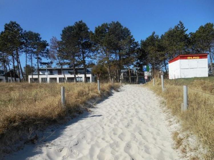 Ihr Weg zum Strand