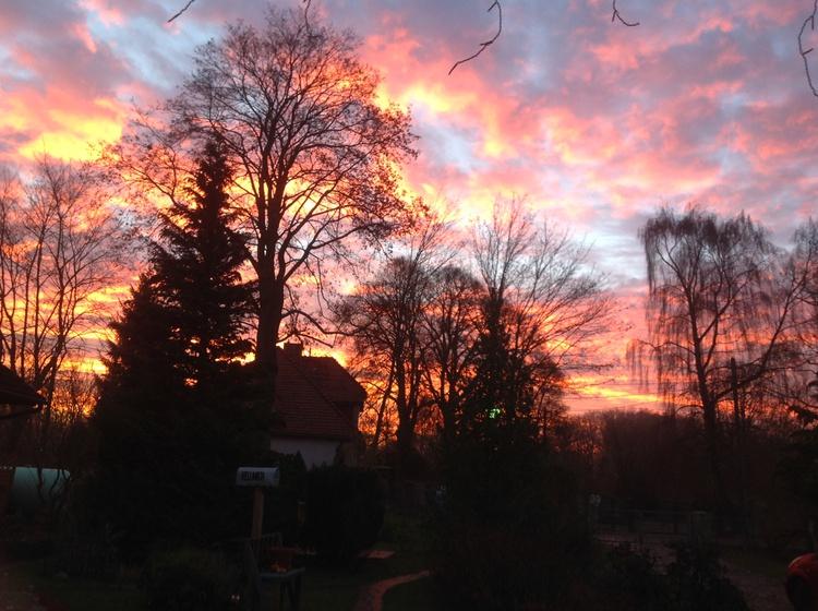 Sonnenaufgang Landlust
