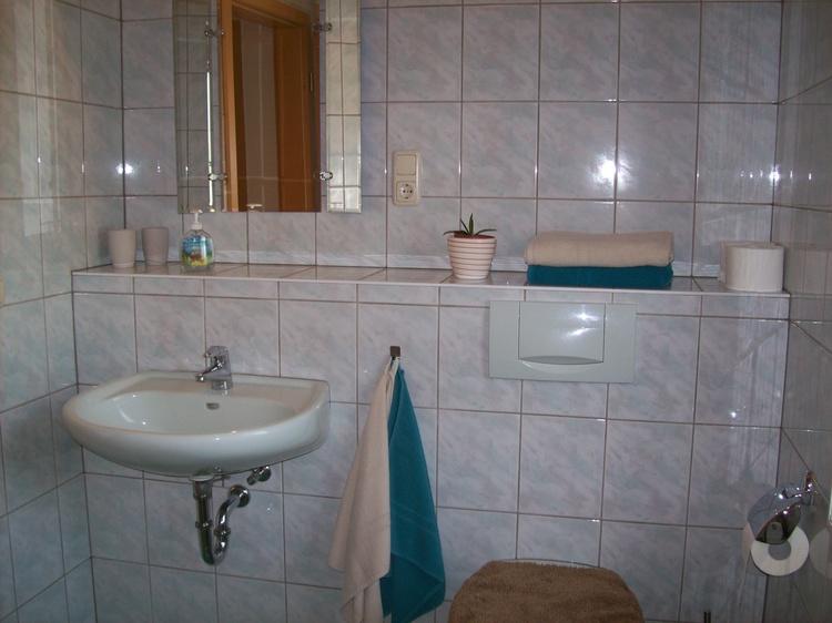 Bad mit WC