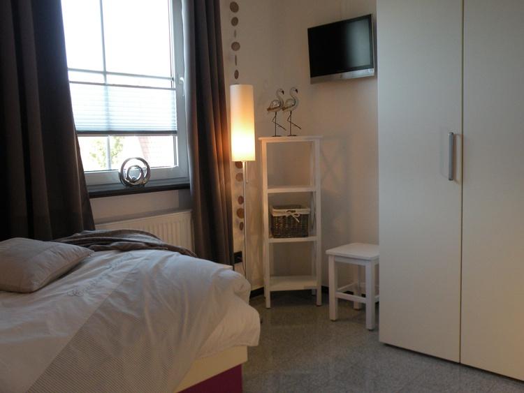 Im 2. Schlafzimmer zwei Einzelbetten mit hochwertigen Bettwaren
