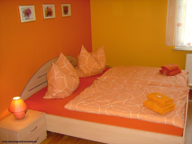 Schlafzimmer, Komfort-Wohnung