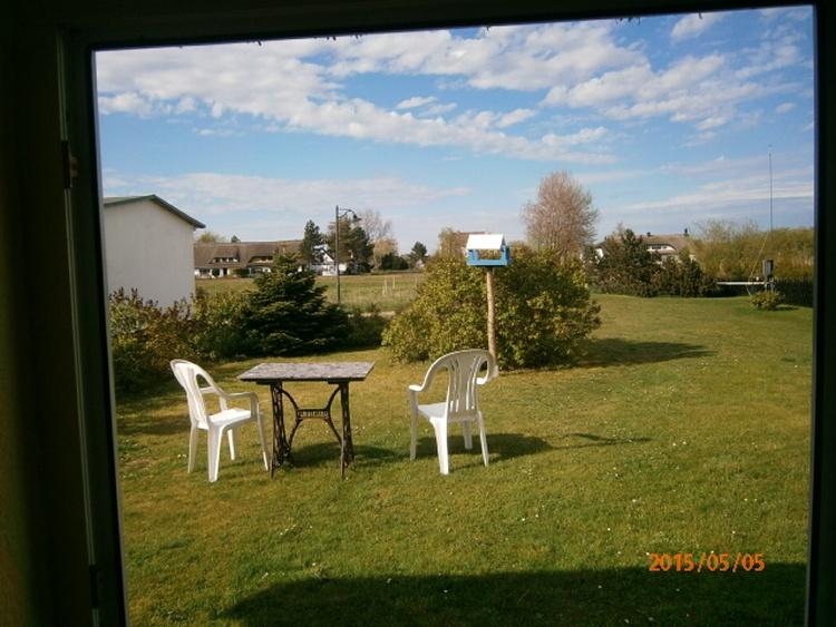 Ferienwohnung Garten mit Sitzmöbel