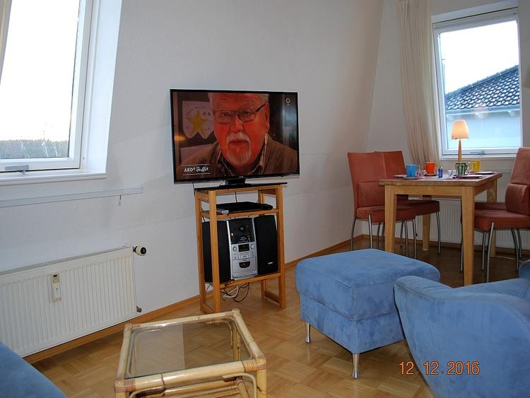 Blick vom Sofa zum Essplatz
