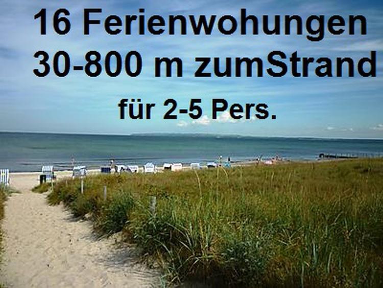 Weitere Strandnahe Ferienwohnungen für 2 - 5 Pers.