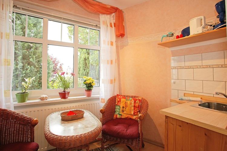 Veranda mit Miniküche