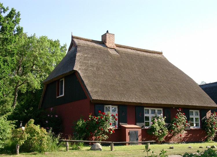 Traditionelles schönes Fischerhaus